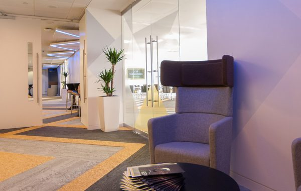 Header image for Level 39 interior design by Hannah Cackett Design (TPS Interiors)